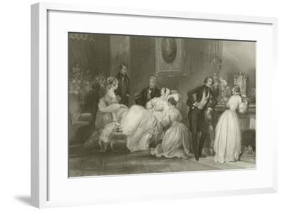 Convalescence-Eugene-Louis Lami-Framed Giclee Print