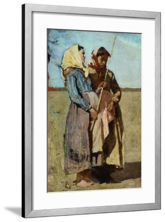 Song of May, 1875-1880-Eugenio Cecconi-Framed Giclee Print