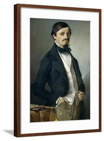 Portrait of Unknown, 1851-Felice Cerruti Beauduc-Framed Giclee Print