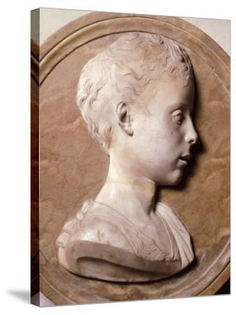 St John Baptist-Desiderio Da Settignano-Stretched Canvas Print