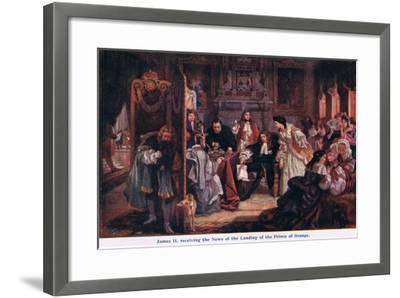 News of the Landing of the Prince of Orange-Edward Matthew Ward-Framed Giclee Print