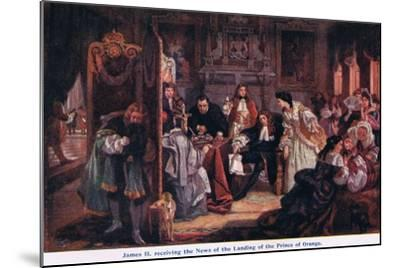 News of the Landing of the Prince of Orange-Edward Matthew Ward-Mounted Giclee Print