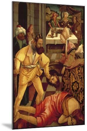 The Beheading of Saint John the Baptist-Erhard Altdorfer-Mounted Giclee Print