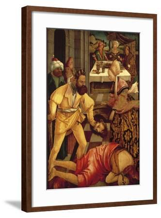 The Beheading of Saint John the Baptist-Erhard Altdorfer-Framed Giclee Print