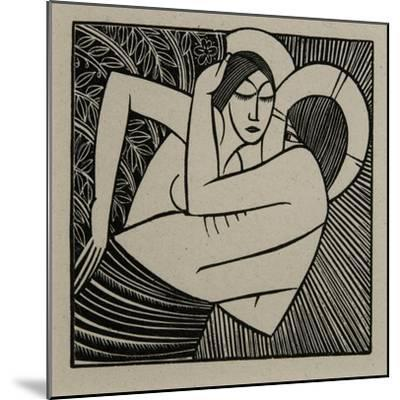 Stay Me with Apples, 1925-Eric Gill-Mounted Giclee Print