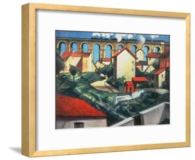 The Viaduct-Christopher Richard Wynne Nevinson-Framed Giclee Print