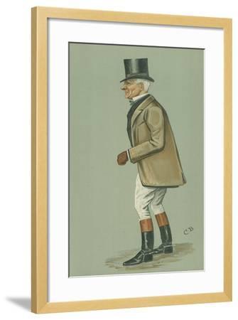 Mr John Earle Welby-Cuthbert Bradley-Framed Giclee Print