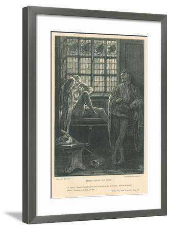 Illustration for King Henry IV, Part I-Frederick Barnard-Framed Giclee Print