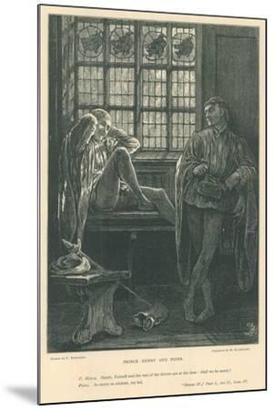 Illustration for King Henry IV, Part I-Frederick Barnard-Mounted Giclee Print