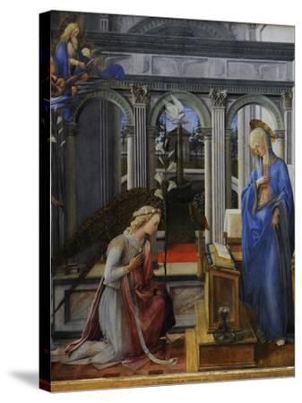Fra' Filippo Lippi-Fra Filippo Lippi-Stretched Canvas Print
