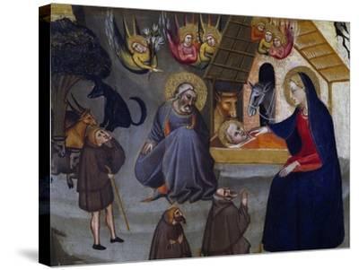 Nativity-Giovanni del Biondo-Stretched Canvas Print