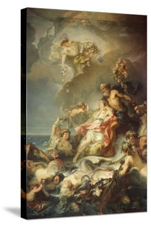 Allegory of Fisher-Gabriel Francois Doyen-Stretched Canvas Print