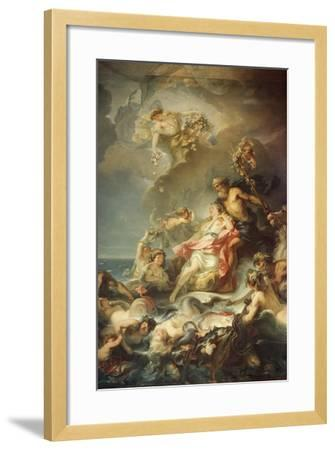 Allegory of Fisher-Gabriel Francois Doyen-Framed Giclee Print