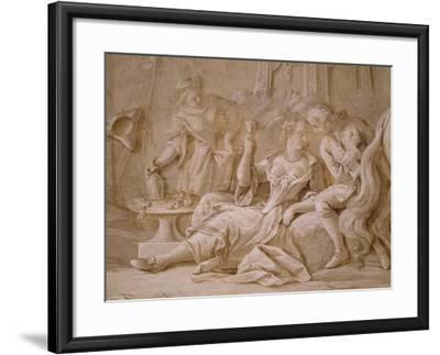 Garden Party-Francesco Simonini-Framed Giclee Print