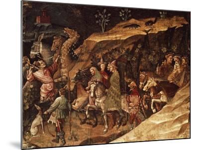 Wise Men on their Way to Bethlehem, Circa 1420-Giovanni Da Modena-Mounted Giclee Print