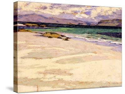 The White Strand, Iona-Francis Campbell Boileau Cadell-Stretched Canvas Print