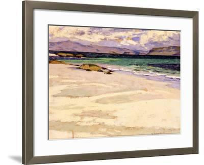 The White Strand, Iona-Francis Campbell Boileau Cadell-Framed Giclee Print