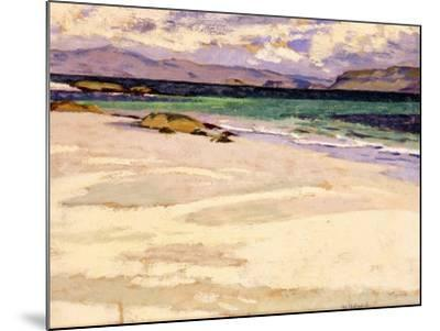 The White Strand, Iona-Francis Campbell Boileau Cadell-Mounted Giclee Print