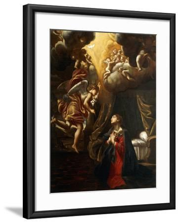 Annunciation-Giovanni Lanfranco-Framed Giclee Print