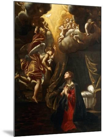 Annunciation-Giovanni Lanfranco-Mounted Giclee Print