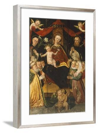 Madonna and Child-Giangiacomo Testa-Framed Giclee Print