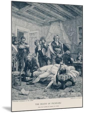 The Death of Pichegru-Georges Moreau De Tours-Mounted Giclee Print