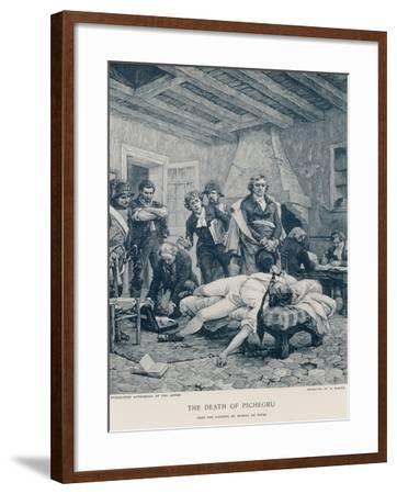The Death of Pichegru-Georges Moreau De Tours-Framed Giclee Print