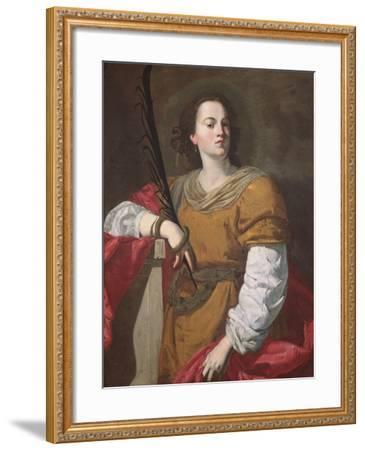 St. Christina the Astonishing, 1637-Francesco Guarino-Framed Giclee Print