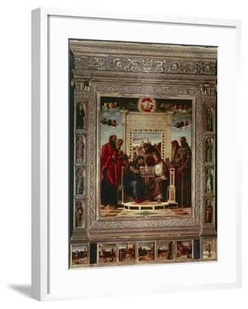 Pesaro Altarpiece-Giovanni Bellini-Framed Giclee Print