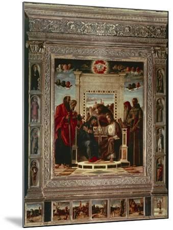 Pesaro Altarpiece-Giovanni Bellini-Mounted Giclee Print