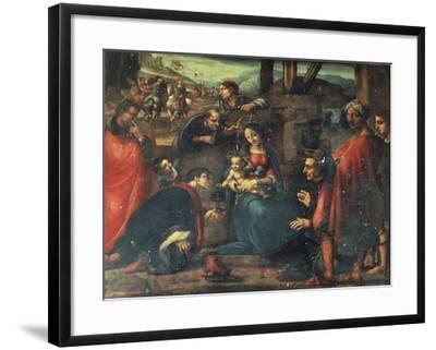 Adoration of the Magi-Fernando Yanez de la Almedina-Framed Giclee Print