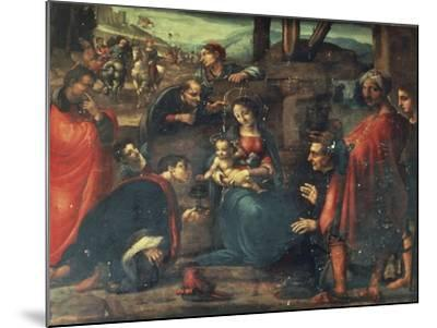 Adoration of the Magi-Fernando Yanez de la Almedina-Mounted Giclee Print