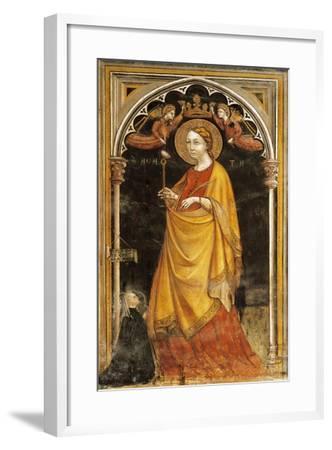 Saint Agatha-Francesco Lola-Framed Giclee Print