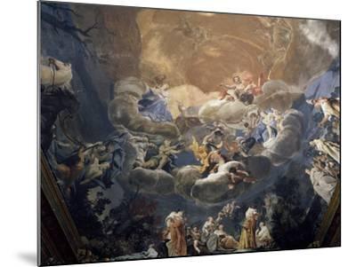 Olympus, 1690-1700-Giuseppe Maria Crespi-Mounted Giclee Print