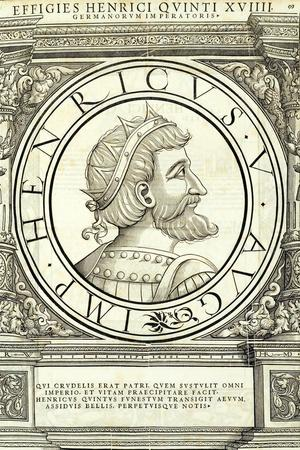 Henricus V-Hans Rudolf Manuel Deutsch-Stretched Canvas Print