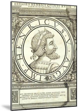 Henricus V-Hans Rudolf Manuel Deutsch-Mounted Giclee Print