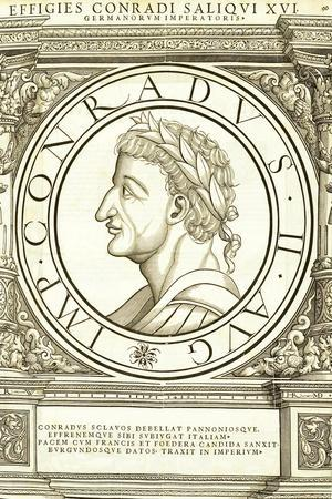 Conradus II Saliquus-Hans Rudolf Manuel Deutsch-Stretched Canvas Print