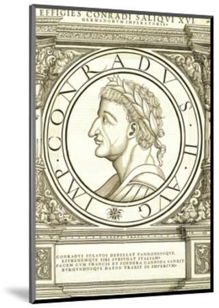 Conradus II Saliquus-Hans Rudolf Manuel Deutsch-Mounted Premium Giclee Print