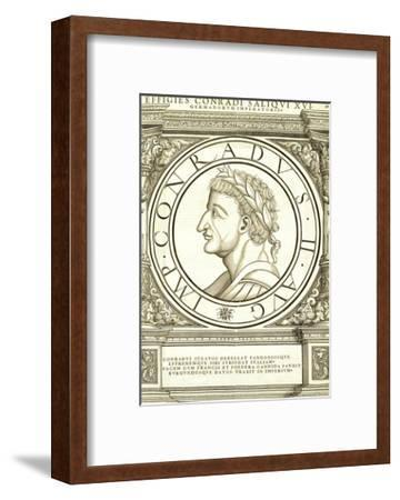 Conradus II Saliquus-Hans Rudolf Manuel Deutsch-Framed Premium Giclee Print