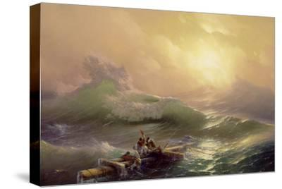 The Ninth Wave, 1850-Ivan Konstantinovich Aivazovsky-Stretched Canvas Print