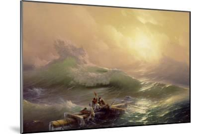 The Ninth Wave, 1850-Ivan Konstantinovich Aivazovsky-Mounted Giclee Print