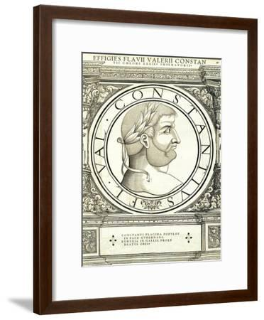 Constantius Chlorus-Hans Rudolf Manuel Deutsch-Framed Premium Giclee Print