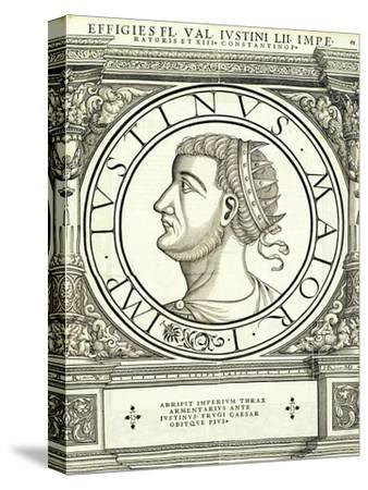 Iustinus-Hans Rudolf Manuel Deutsch-Stretched Canvas Print