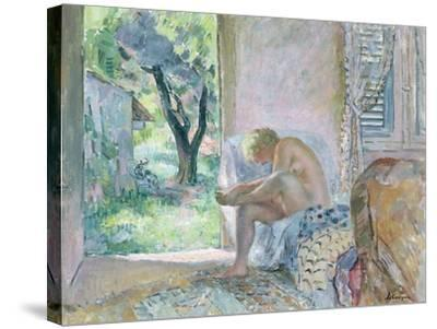 Intimacy, or Waking Up-Henri Lebasque-Stretched Canvas Print