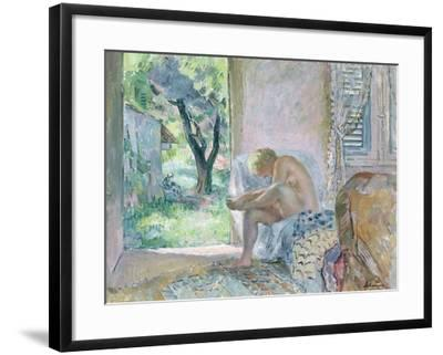 Intimacy, or Waking Up-Henri Lebasque-Framed Giclee Print