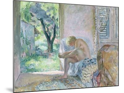Intimacy, or Waking Up-Henri Lebasque-Mounted Giclee Print