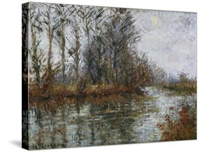 Turn of the Eure; Tournant De L'Eure-Gustave Loiseau-Stretched Canvas Print