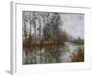 Turn of the Eure; Tournant De L'Eure-Gustave Loiseau-Framed Giclee Print