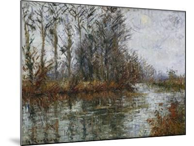 Turn of the Eure; Tournant De L'Eure-Gustave Loiseau-Mounted Giclee Print