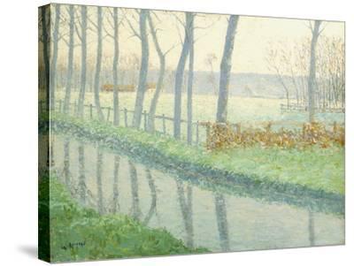 Le Sausseron, Nesles-La Vallee, C.1891-Gustave Loiseau-Stretched Canvas Print